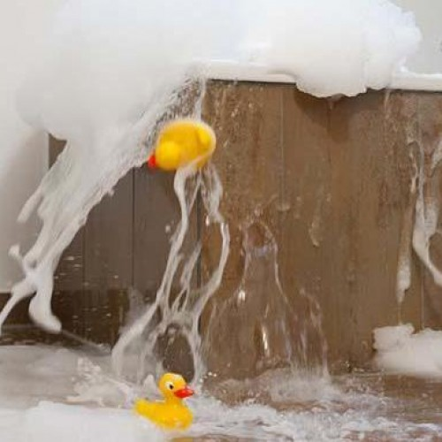 Bathroom Water Damage