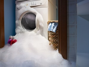 When washing machines malfunction, they usually create not only a flooded area surrounding the washing machine, but also a flooded house