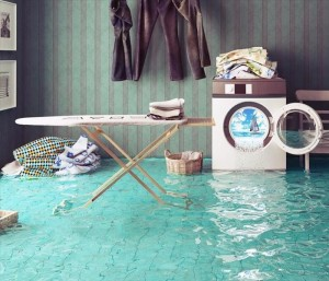Most household floods and water damage are caused by plumbing or washing machine appliance failure
