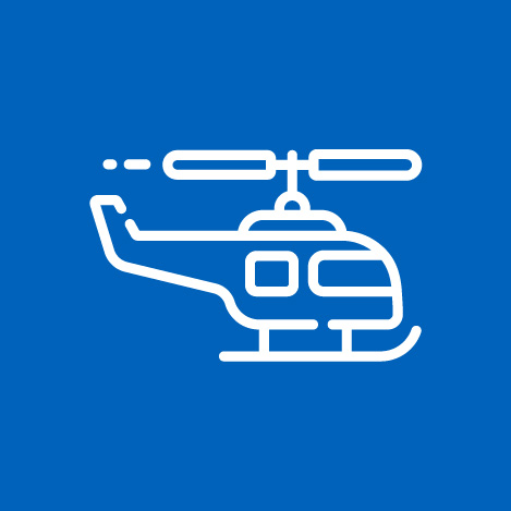 Coronavirus and Infectious Disease Decontamination for helicopters