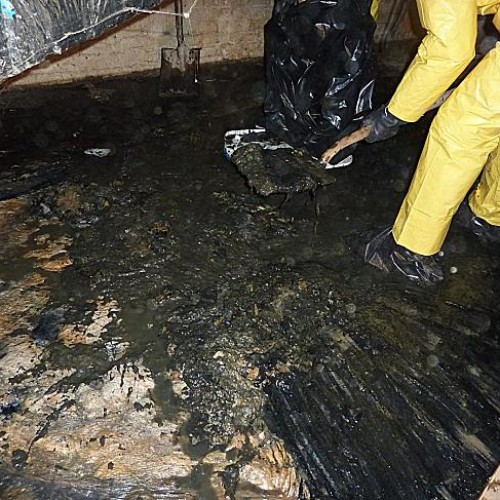 Sewage water cleanup and decontamination